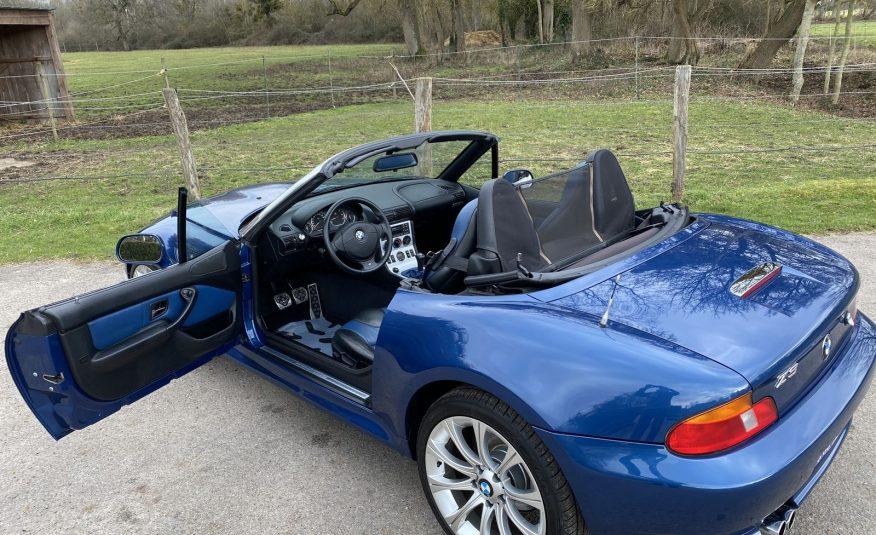 BMW Z3 2.0L 6 CYLINDRES 150 CH BLEU TOPAZE CUIR BITON PHASE 2 ETAT CONCOURS!!