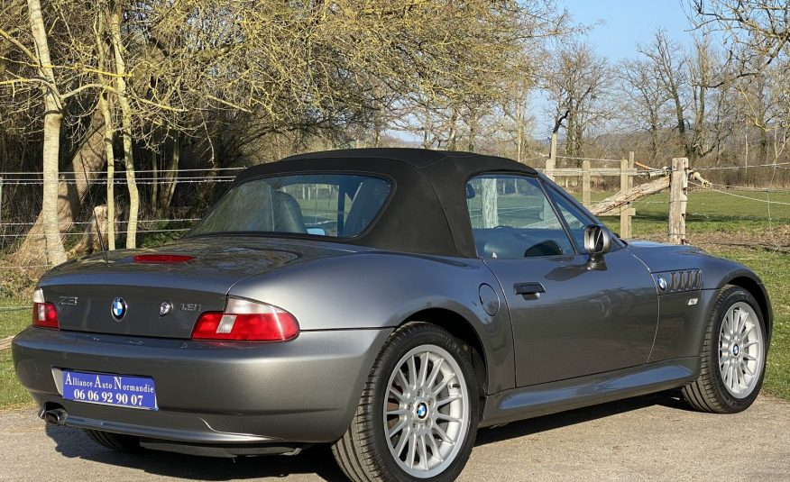 """BMW Z3 1.9 L 118CH PHASE 2 ROADSTER """"GRIS STERLING"""" CLIM/SIEGES SPORT CHAUFF 1ERE MAIN"""