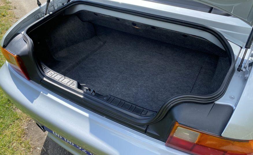 """BMW Z3 1.8L 115 CH ROADSTER """"ARKTIS-SILBER """" CUIR/TISSUS NOIR 103900 KMS"""