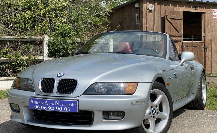 """BMW Z3 2.8L 192 CH PHASE 1 97900 KMS """"WIDE BODY""""HISTORIQUE CUIR BORDEAUX"""