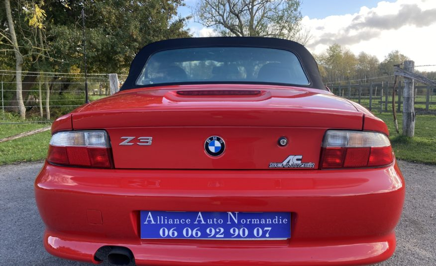 "BMW Z3 1.9L 140 CH ROADSTER ""ROUGE HELLROT"" 1ERE MAIN!!!! KIT CARROSSERIE ""SCHNITZER"""