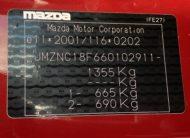 "MAZDA MX5 NC FL 2.0L PERFORMANCE GENERATION LIMITED 160 CH NUMÉROTÉE 2300/3500 EXEMPLAIRES ""Velocity Red Mica"" OPTION"