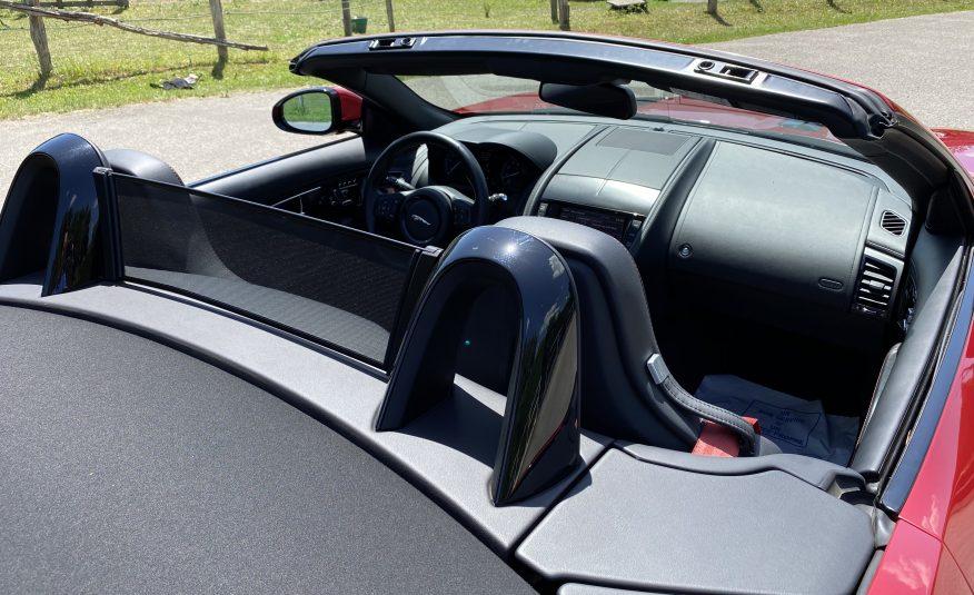 "JAGUAR F-TYPE CABRIOLET 3.0 V6 S 380 S AUTO ""ITALIAN RACING RED"""
