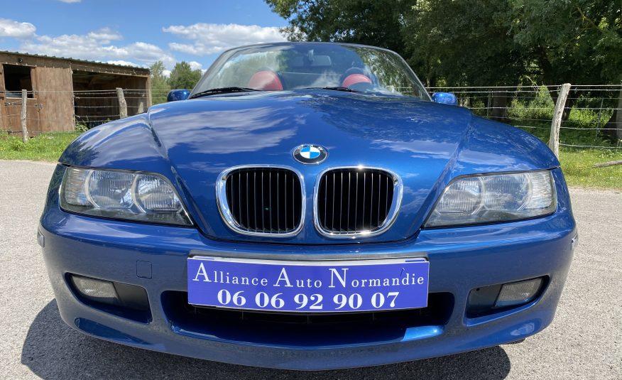 BMW  Z3 1.9L 118 CH 4 CYLINDRES PHASE 2 BLEU TOPAZE SIEGES SPORT